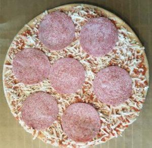 Glutenfreie Pizza Dr. Oetker Salami