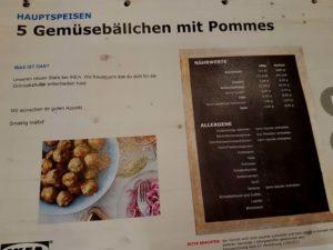 Allergene Ikea Gemüsebällchen