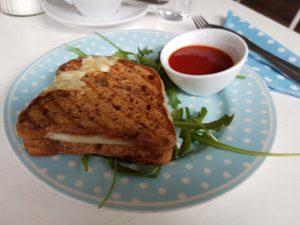 Toast im Allergikercafe