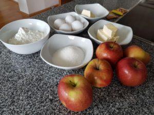 Zutaten Apfelkuchen