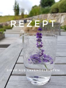 Rezept für Lavendelsirup
