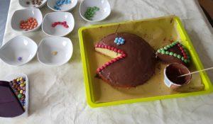 Torte verzieren