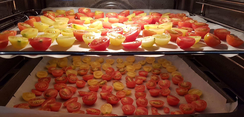 Tomaten im Backrohr