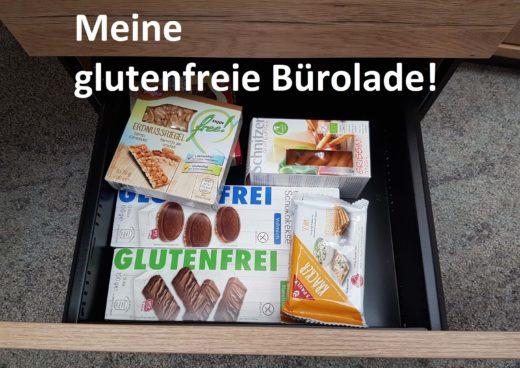 Glutenfreie Bürolade